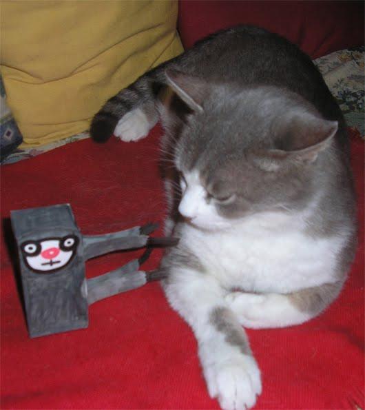 Bradi Pit e il gatto