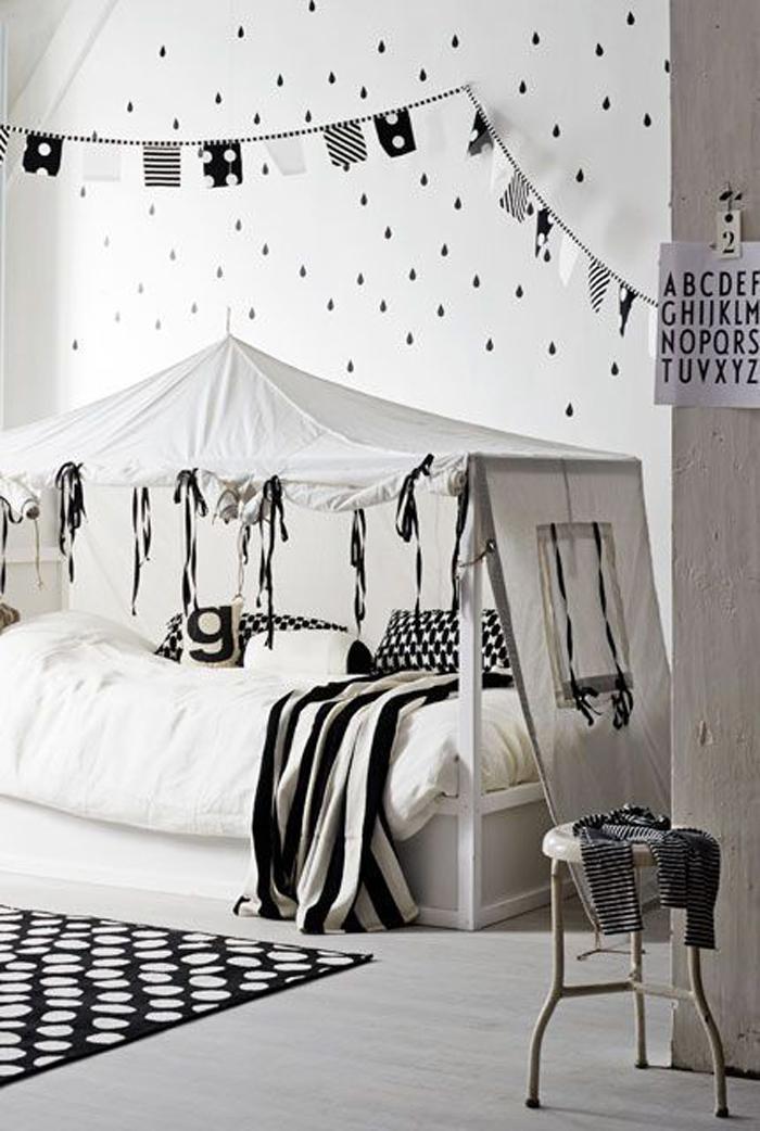 black& white children's rooms