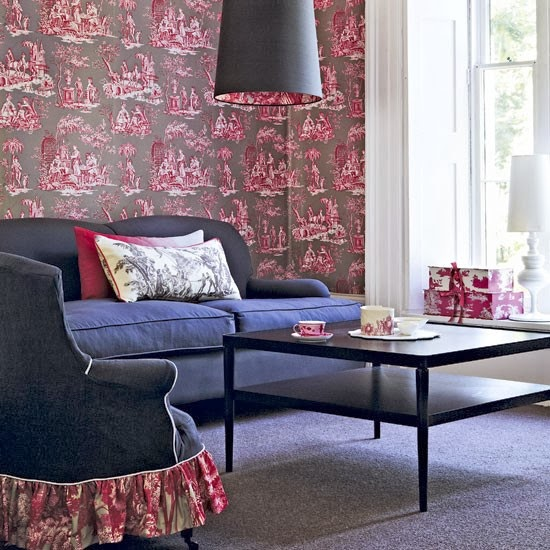 Victoria dreste designs toile updated and modern - Toile de jouy decoration ...