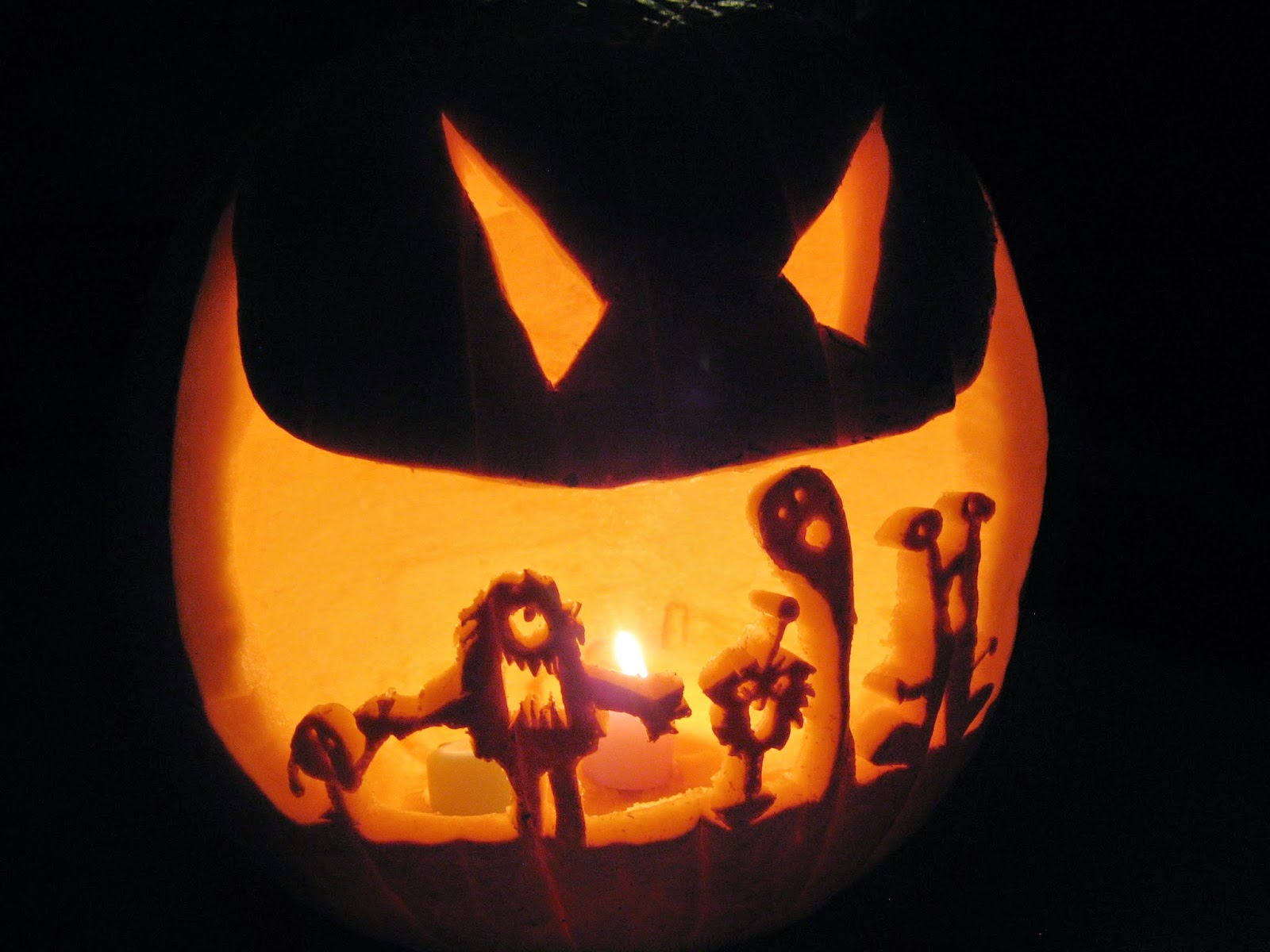 Halloween Pumpkin Carving