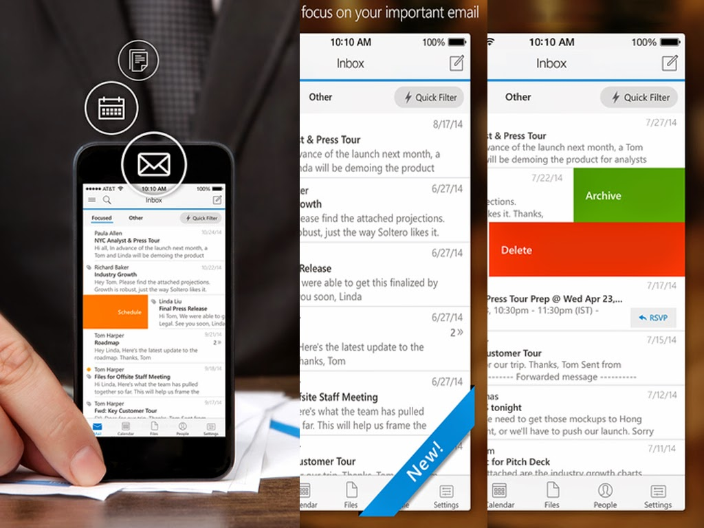 iOS Outlook App Breaks Security