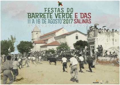 Alcochete- Festas do Barrete Verde e das Salinas 2017- 11 a 16 de Agosto