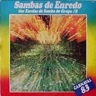 foto da capa do cd sambas de enredo 1983 grupo de acesso