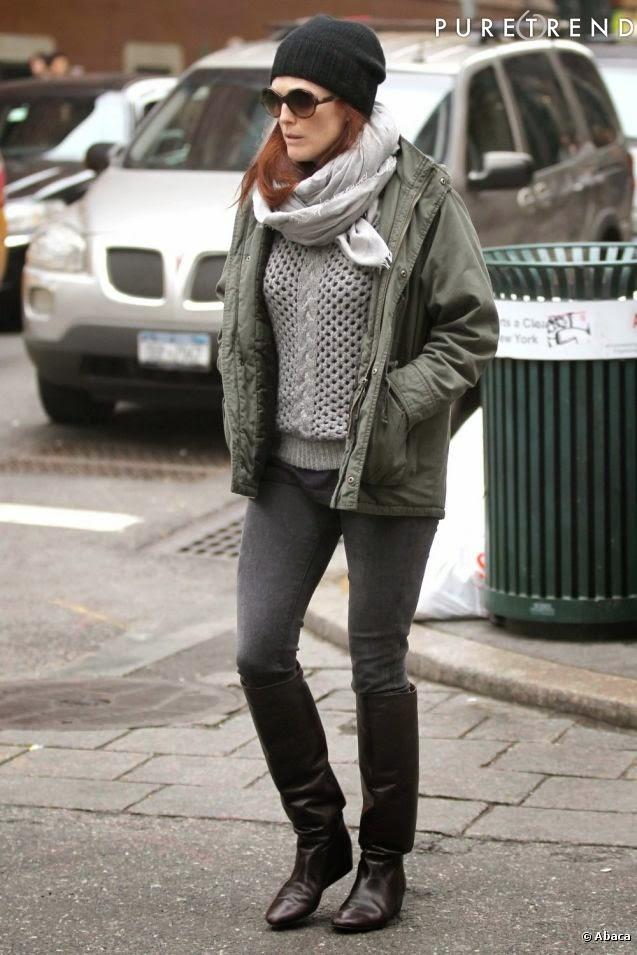 Street Style 50+ /Julianne Moore/