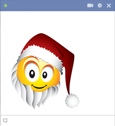 Santa Facebook Sticker