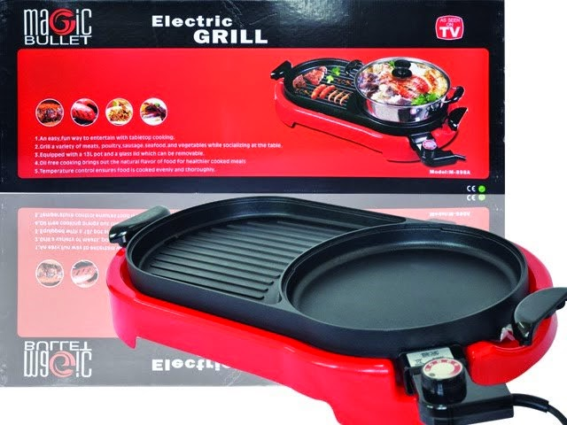 ~❤ ELECTRIC STEAMBOAT + GRILL ❤~