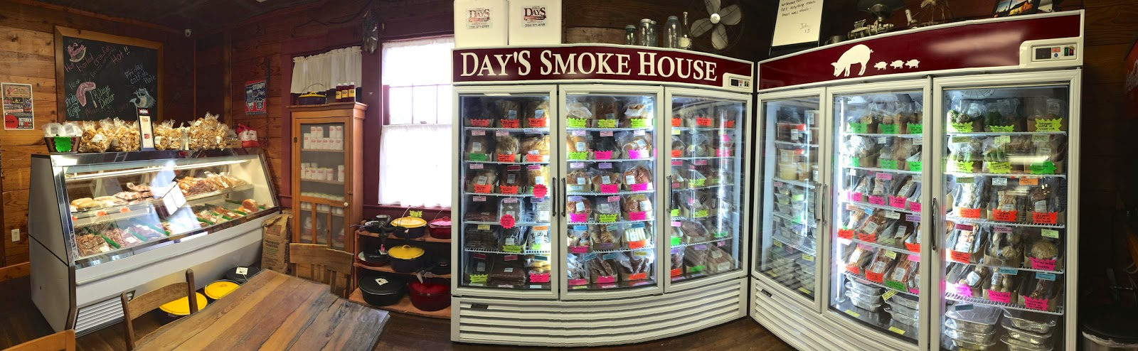 A look inside Day's Smokehouse in Denham Springs, Louisiana