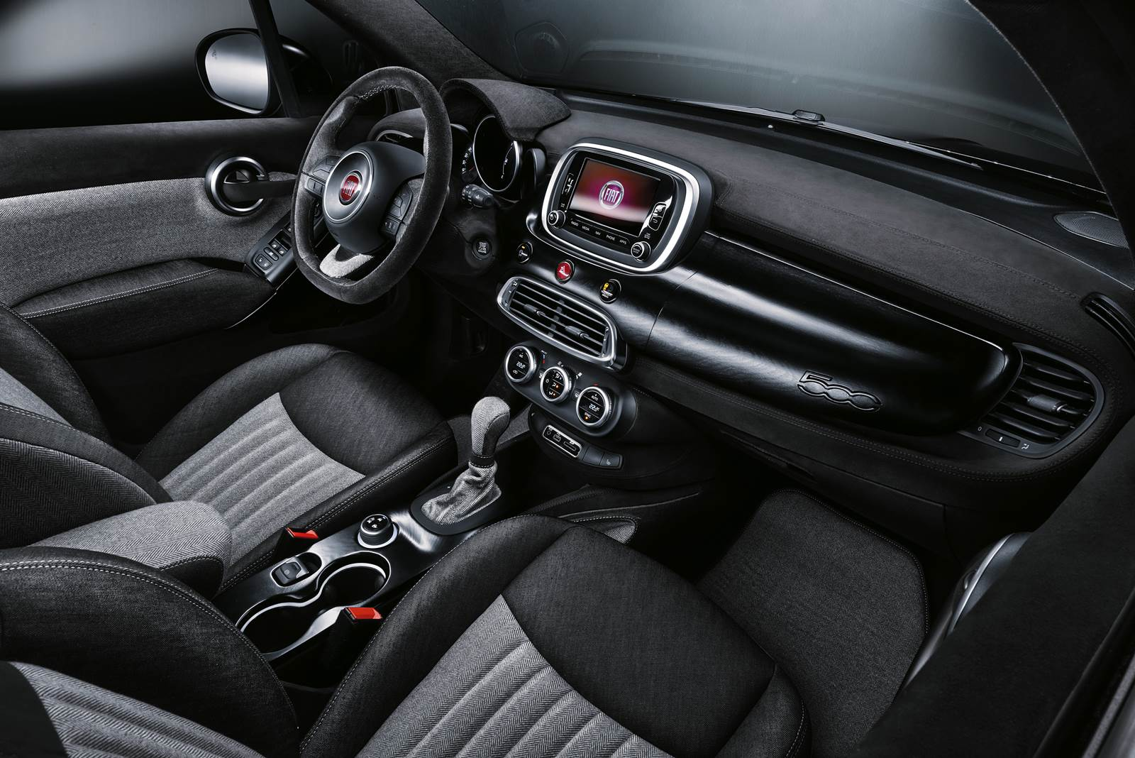 Fiat 500 X Black Tie