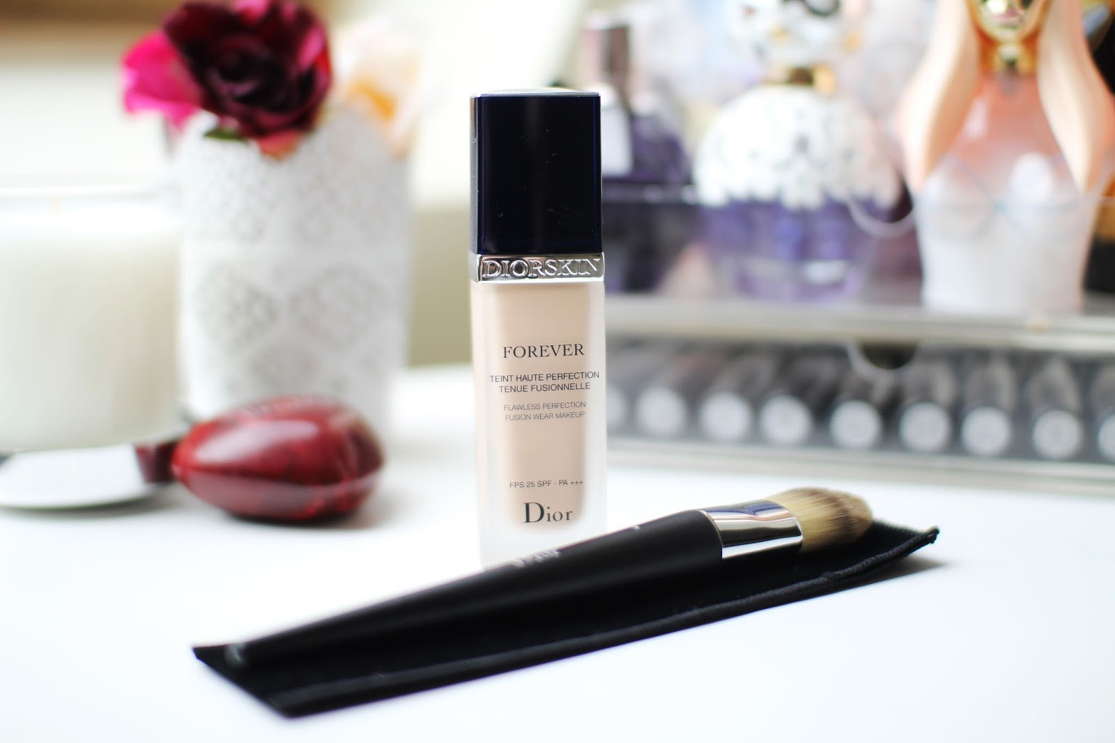 Dior Forever Foundation and Foundation Brush