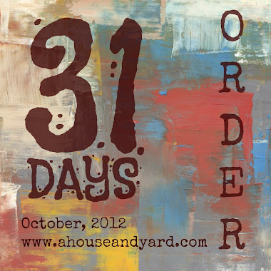 31 Days of Order Series