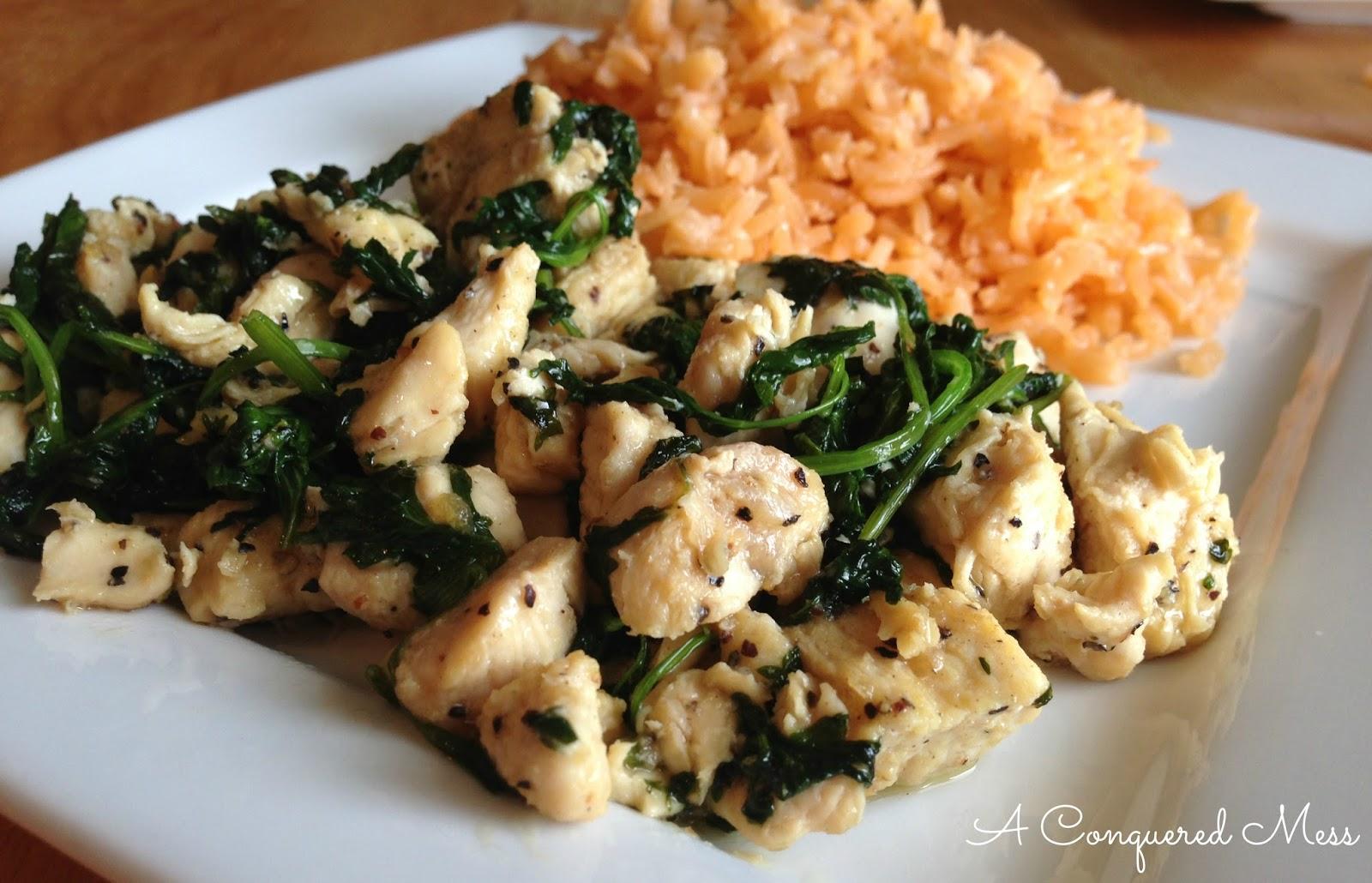 Cilantro Lime Chicken via A Conquered Mess #Recipe #Chicken