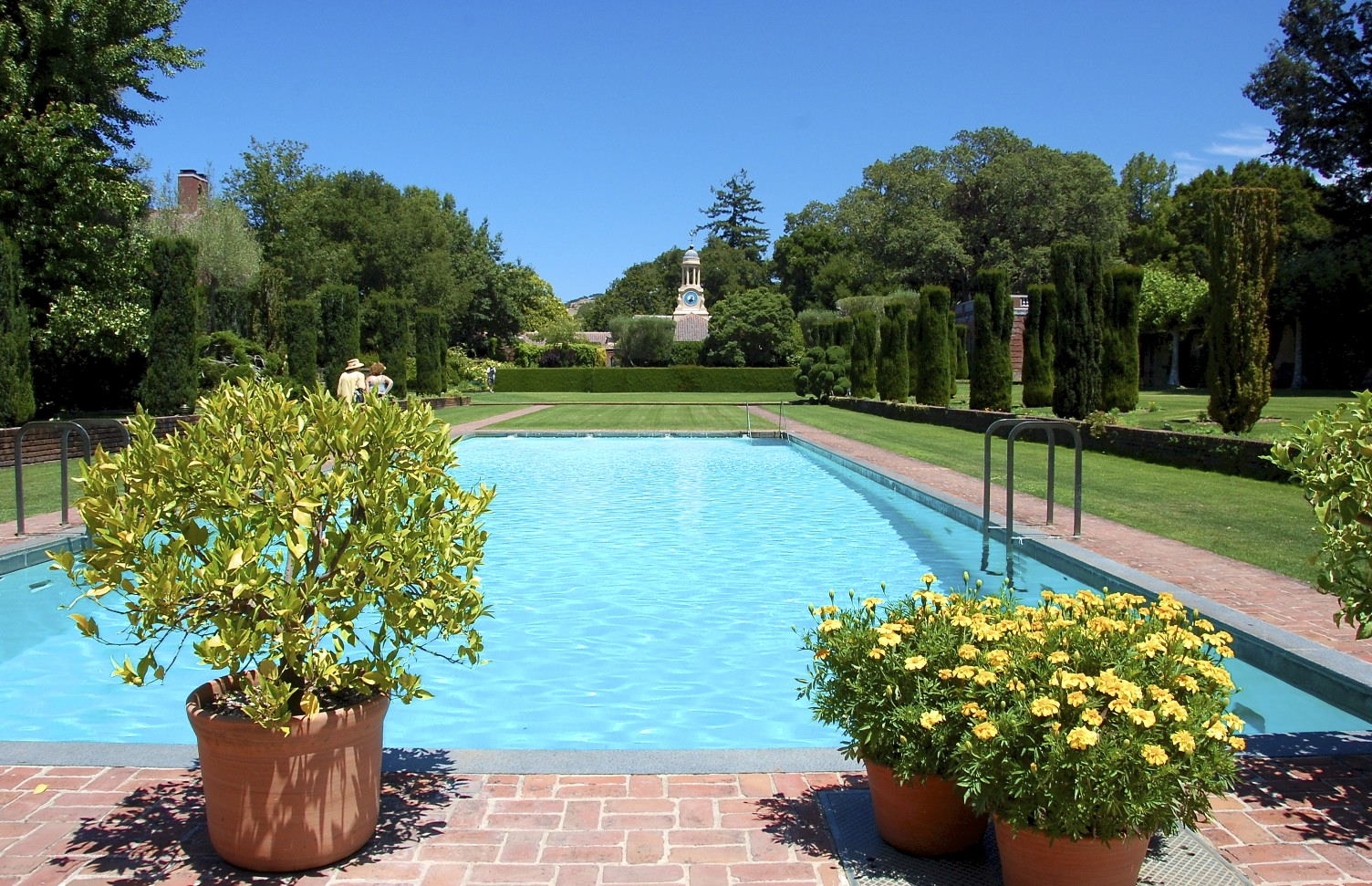 Travels with l and sometimes z f filoli mansion and for Filoli garden pool