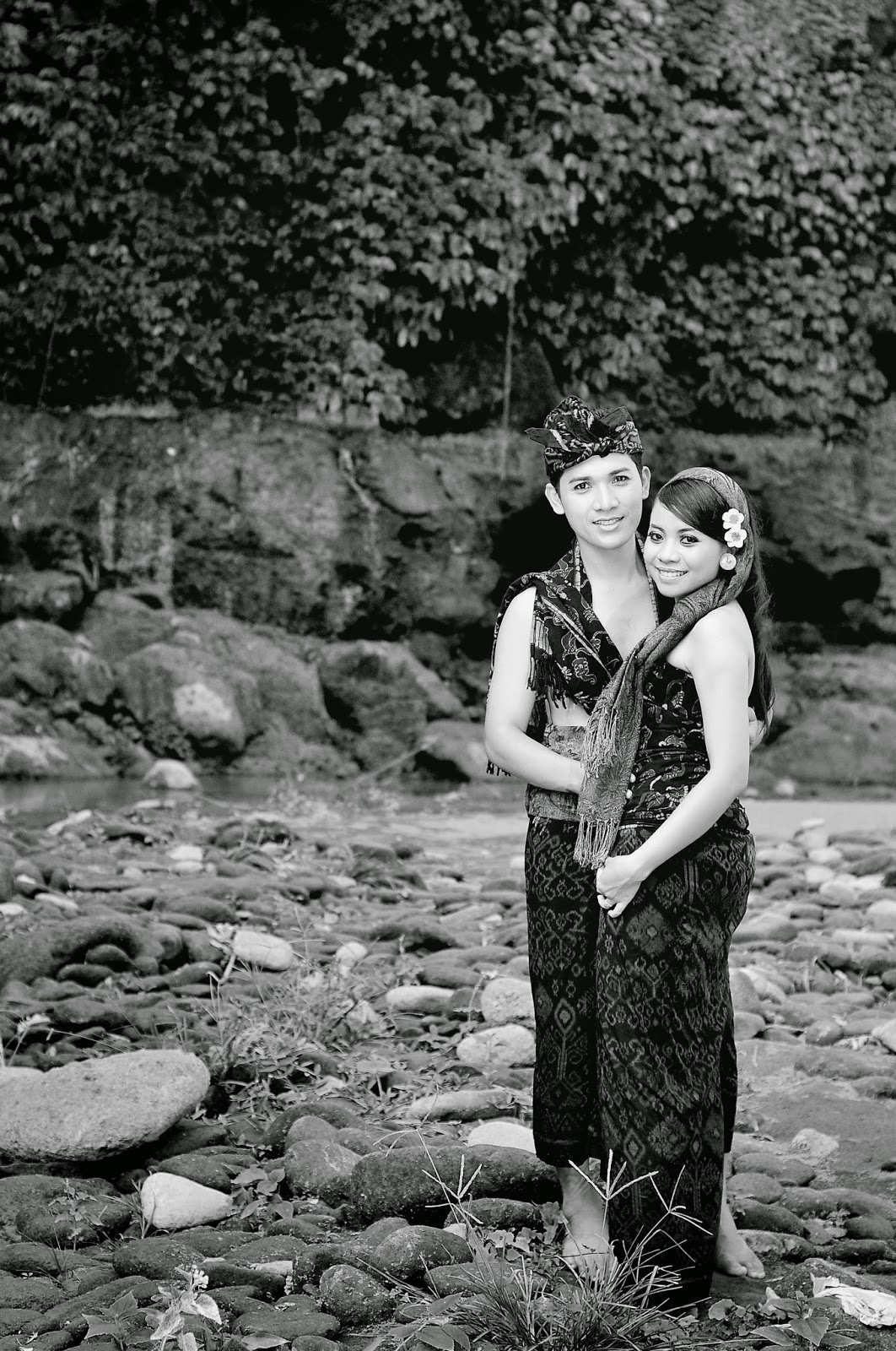 Prewed photo pakian adat bali
