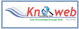 My Blog Knoweb Quote