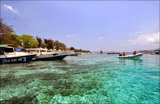 Gili Meno - Pulau Gili Lombok, Pesona Wisata Baru di Lombok