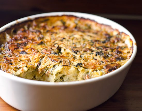 Swiss Chard and Potato Casserole
