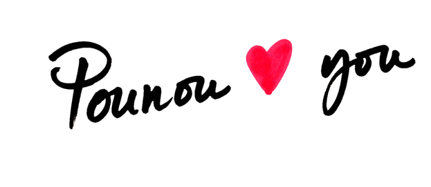 Pounou hearts you