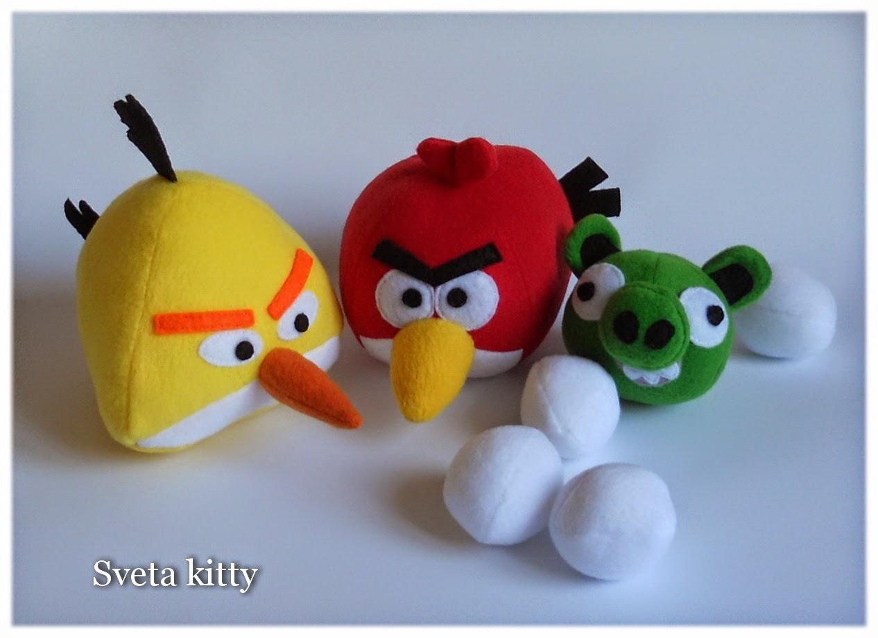 Игрушка своими руками angry birds