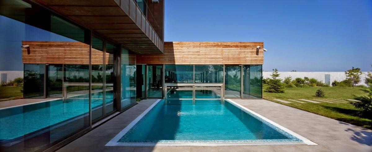 Gambar Contoh Desain Rumah Minimalis Mewah