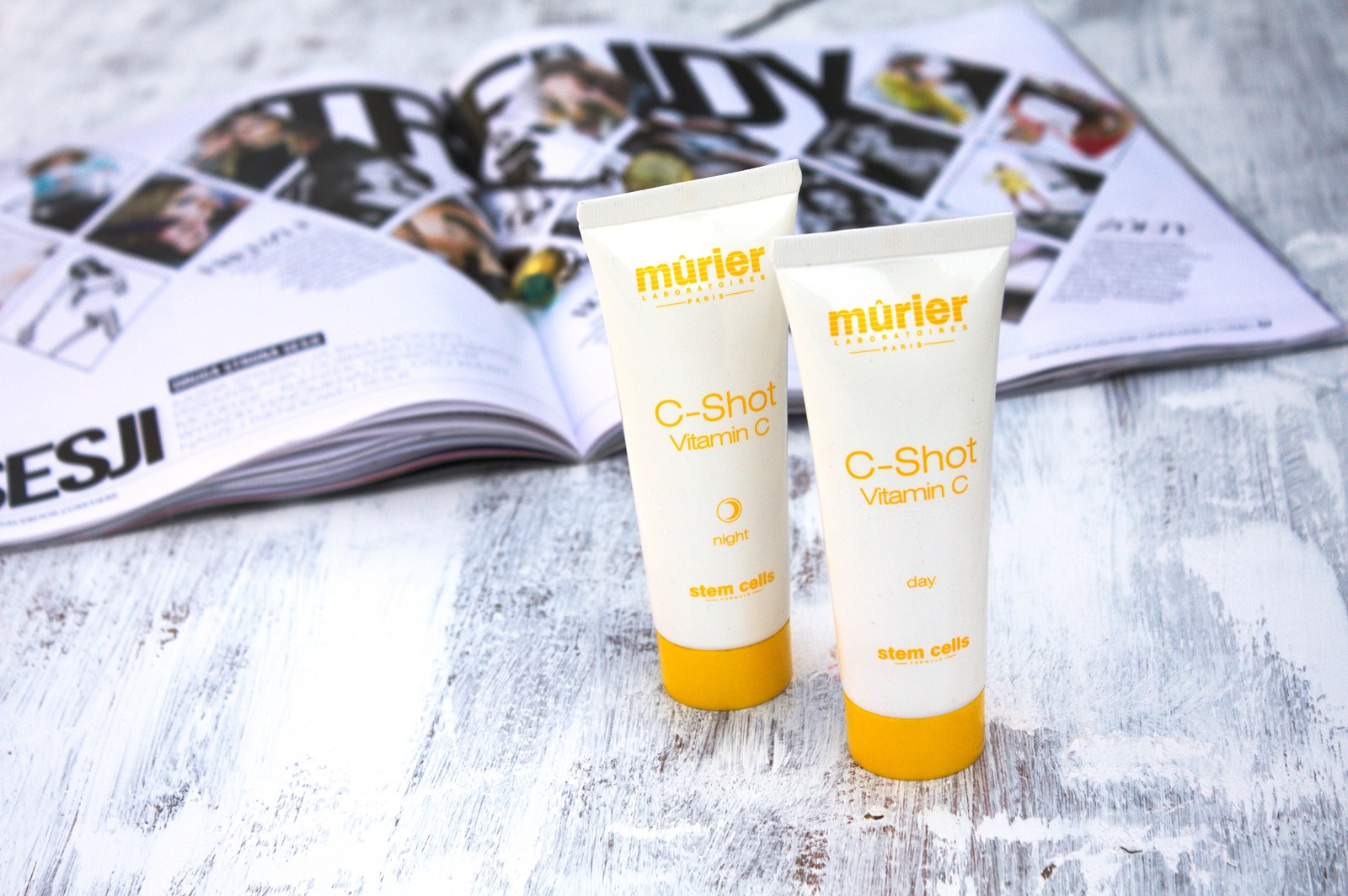 Murier C-shot Vitamin C by day i Murier C-shot Vitamin C by night
