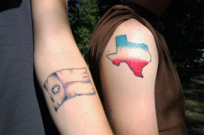 cute tattoo pictures texas tattoos. Black Bedroom Furniture Sets. Home Design Ideas