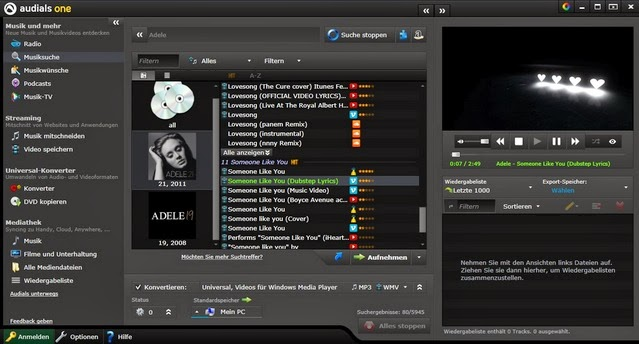Audials One 2018 For Windows 7 8 10 MAC Full Version
