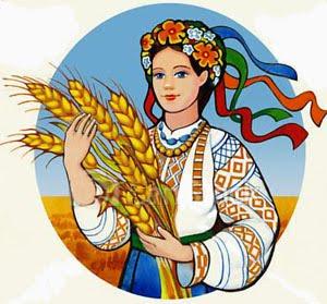 Малюнок дівчина осінь
