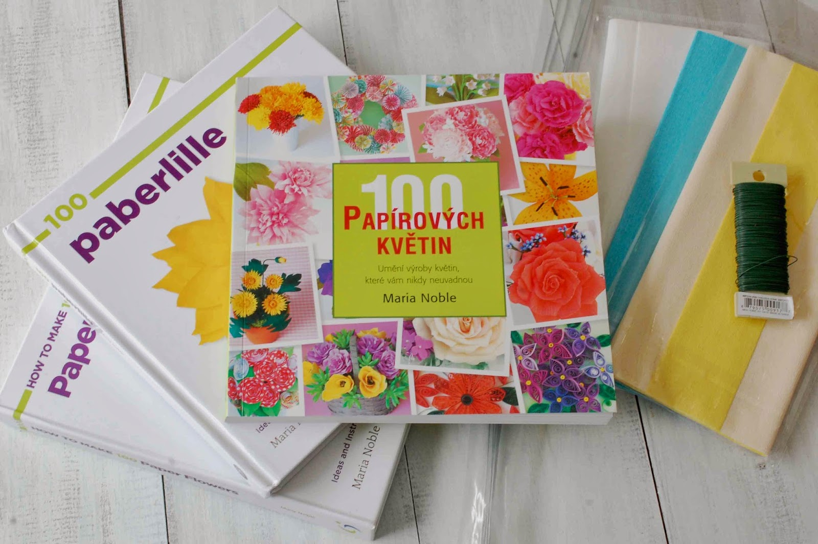 A Diy Crepe Paper Flower Book Giveaway Now Translated Into