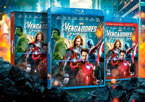 Los Vengadores en edición Domestica