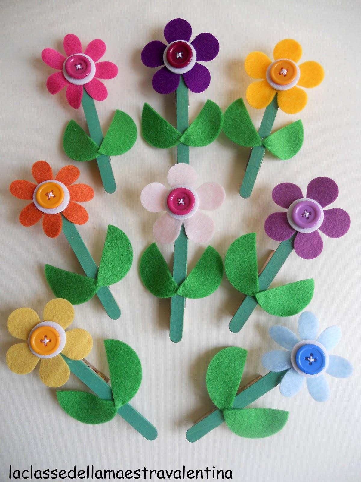 La classe della maestra valentina ancora fiori per la mamma for La classe della maestra valentina primavera