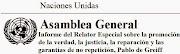 Informe del Relator Especial Pablo de Greiff
