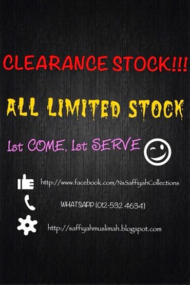 CLEARANCE STOCK 2014!!!!!!!