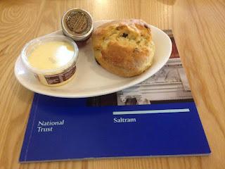 Saltram scone