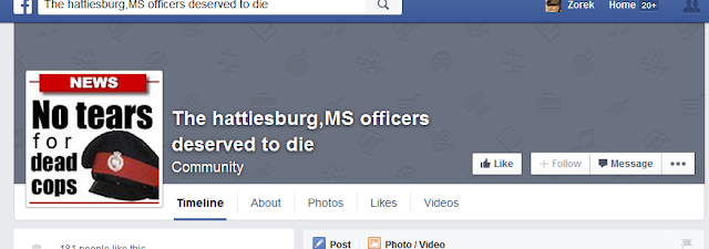 https://www.facebook.com/pages/The-hattiesburgMS-officers-deserved-to-die/1601556683420849