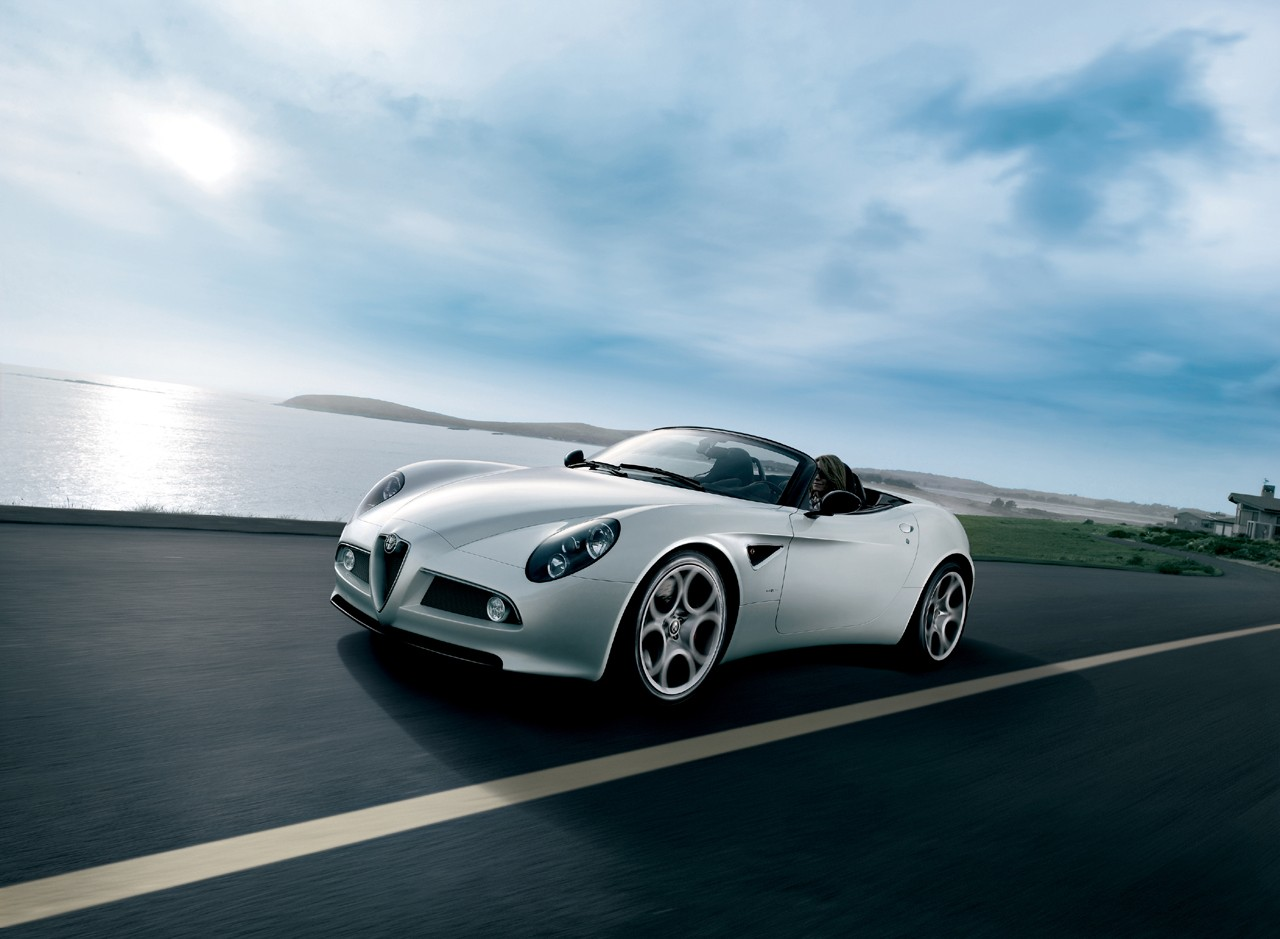 2009 alfa romeo 8c spider auto cars concept. Black Bedroom Furniture Sets. Home Design Ideas