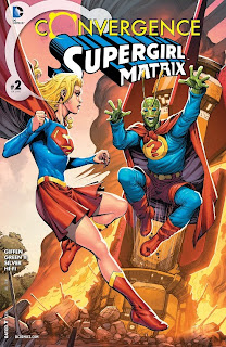 Cover of Convergence: Supergirl Matrix #2 from DC Comics