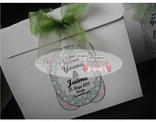 bolsa detalles boda personalizado