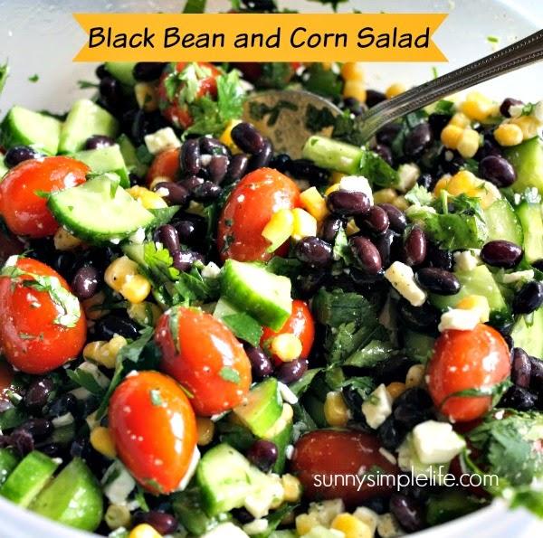 ... salad black bean and corn salad black bean corn salad half a bag of