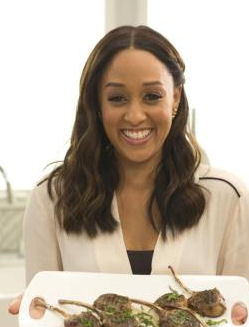 Left field wander entertaining cooking show hosts tia mowry tia mowry at home cooking channel tia played teenager tia landry on the abcthe wb sitcom sister sister shes a vegan forumfinder Image collections