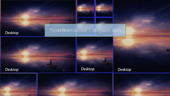 Cara Mengubah Ukuran Tile pada Start Screen Windows 8.1
