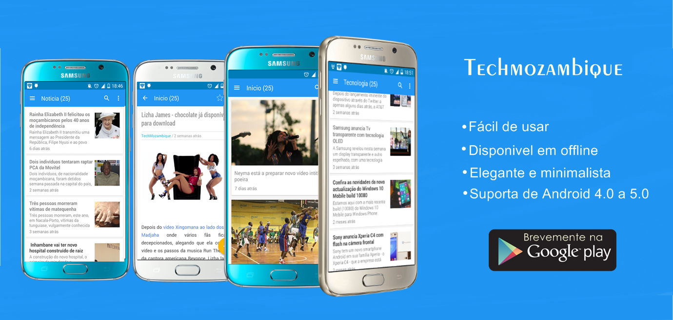 Faça  download do nosso app
