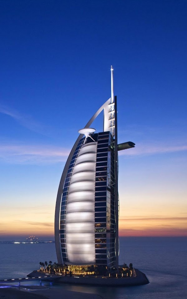 Burj Al Arab View  Galaxy Note HD Wallpaper