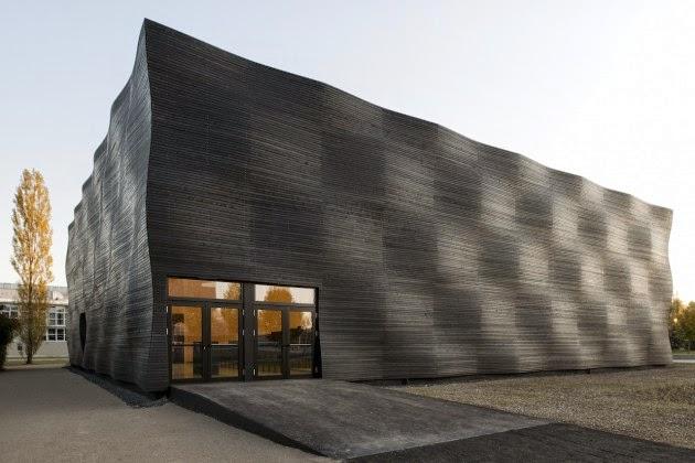 fachada madera carbonizada