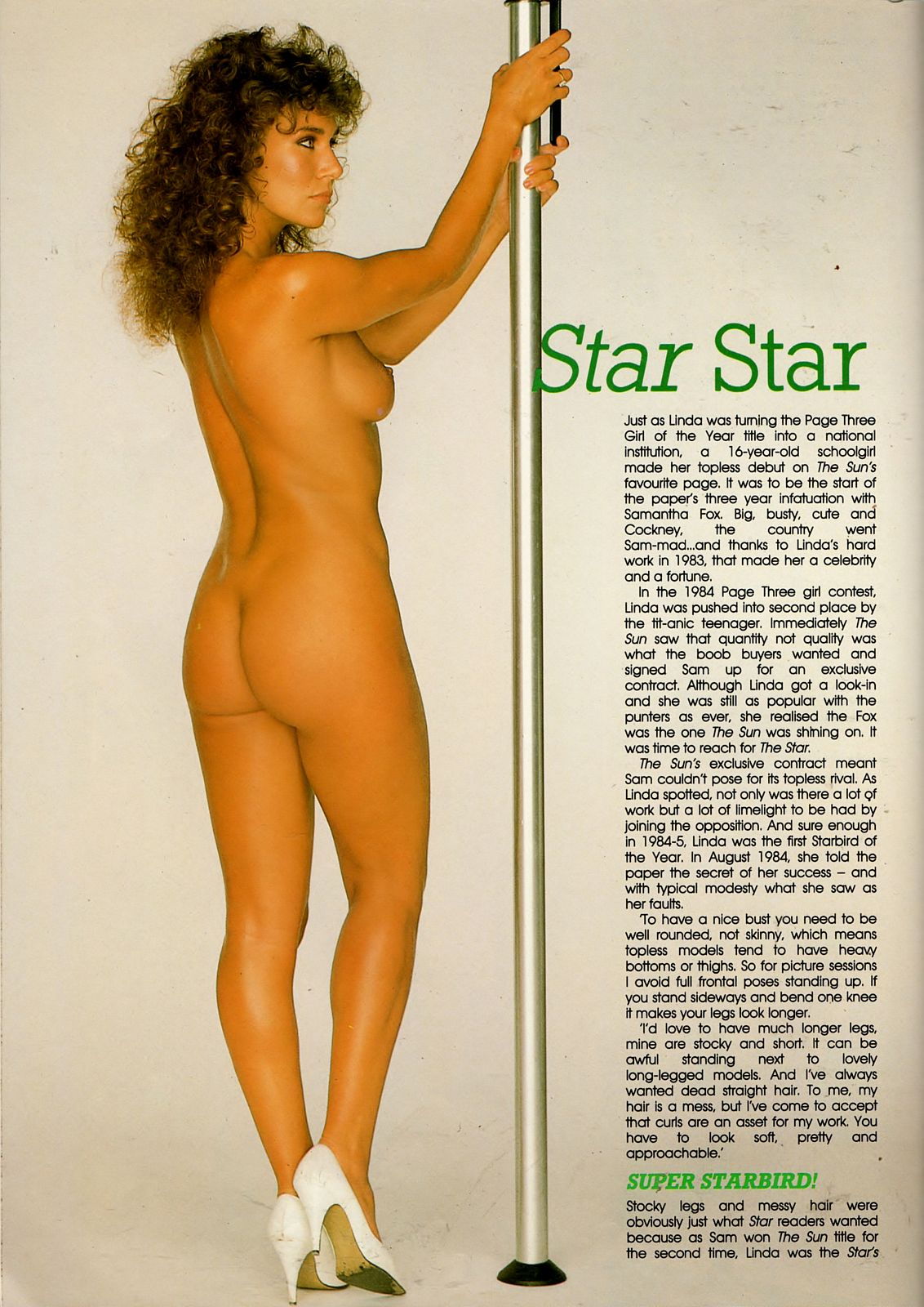 linda lusardi first shoot mayfair