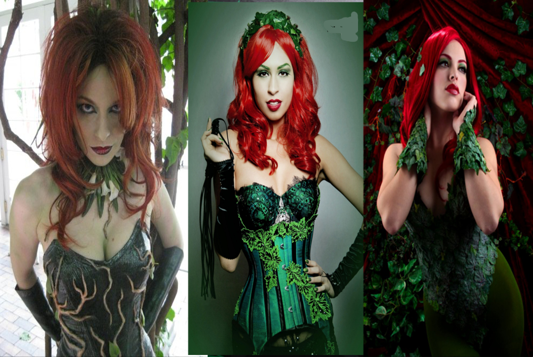 How to Make a Poison Ivy Costume  sc 1 st  Cheriu0027s Creationu0027s Blog & Cheriu0027s Creationu0027s Blog: How to Make a Poison Ivy Costume