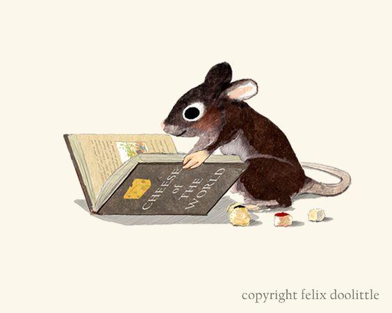 Un dels nostres ratolins ha trobat un bon llibre!