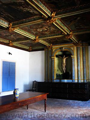 Sacristia da Igreja da Ordem Terceira do Carmo, em São Cristóvão - Sergipe - Por Tito Garcez