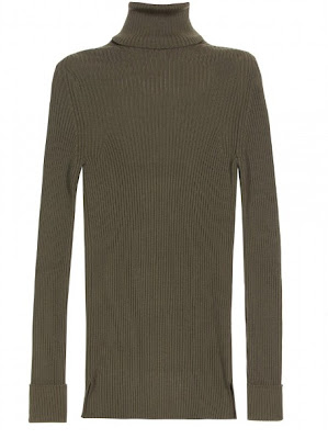WOOL TURTLENECK PULLOVER