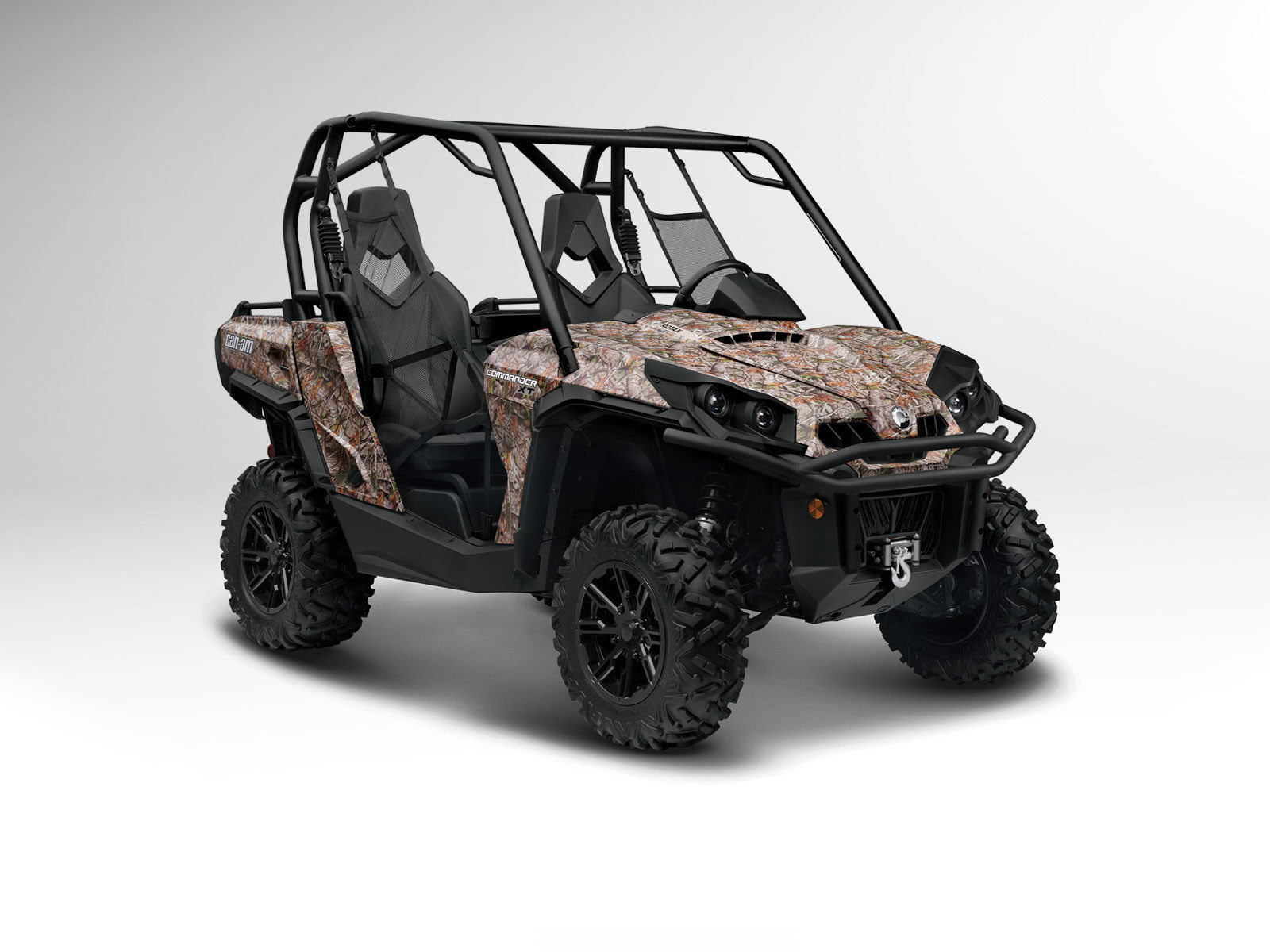 2012 Can-Am Commander 800R XT ATV pictures 4