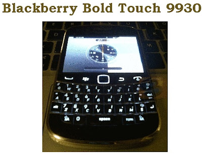 Blackberry Bold Touch 9930 : Preview Videos emerged